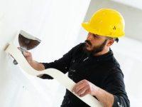 איך בונים קיר גבס