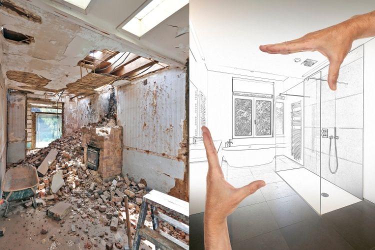 <h3>שיפוץ דירה לפני ואחרי </h3>