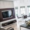 <h3>עבודות גבס לטלויזיה בסלון ובחדרי השינה </h3>